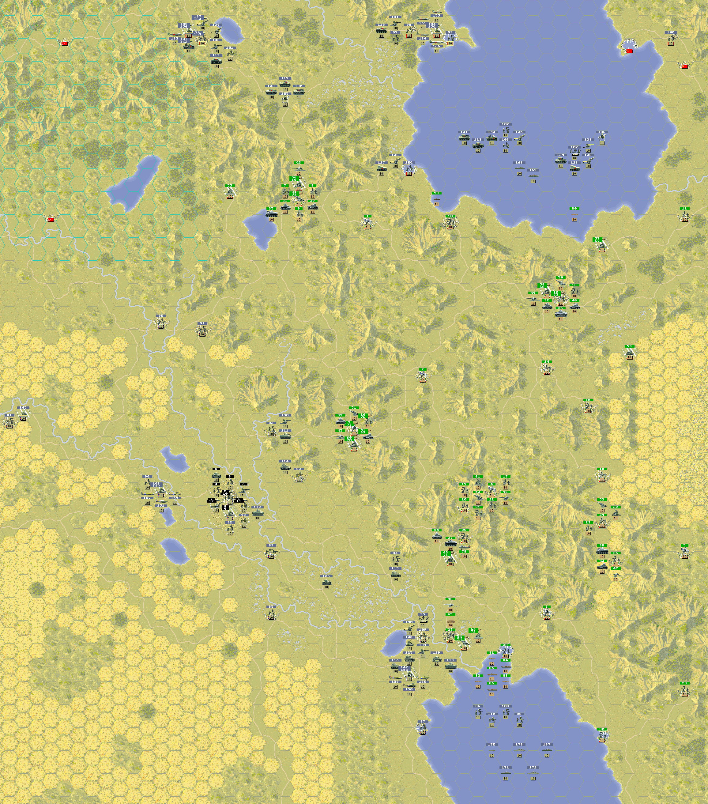 Tactical map (large & detail):